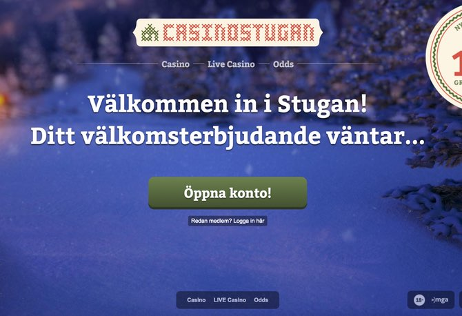 Casinostugan Screen